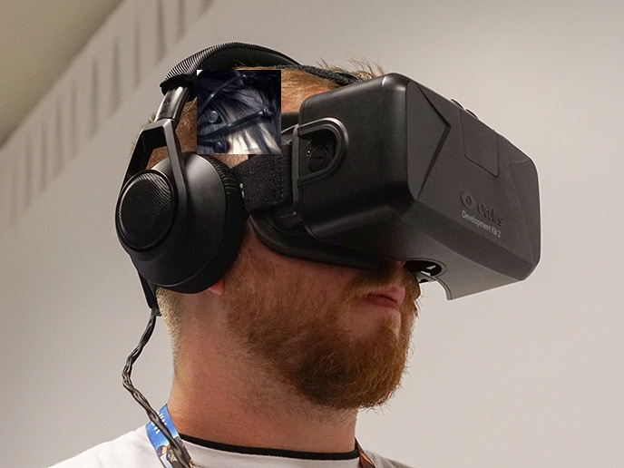 OntoLab VR Goggle with Brain Computer Interface