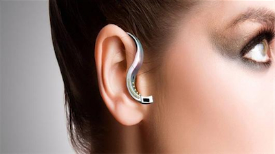 Hybra Advanced Technology The O.R.B. Bluetooth Ring and Headset title=
